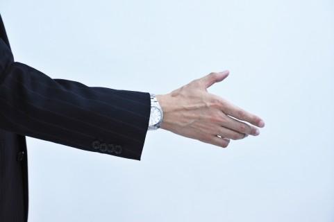 握手しよう